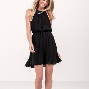 Francesca's Flawless Dress in Solid Black